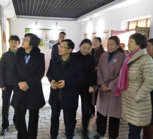 省妇联副主席李丹云来我县开展学习宣传党的十九大精神专题调研