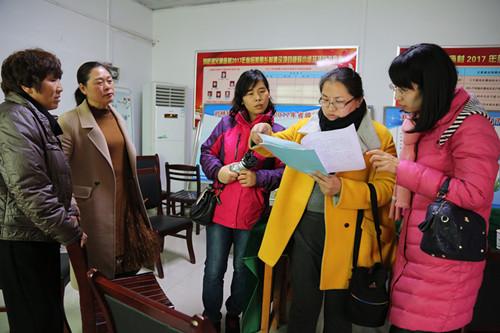 市妇联来我县考察申报省妇女创业扶持转移支付资金项目村